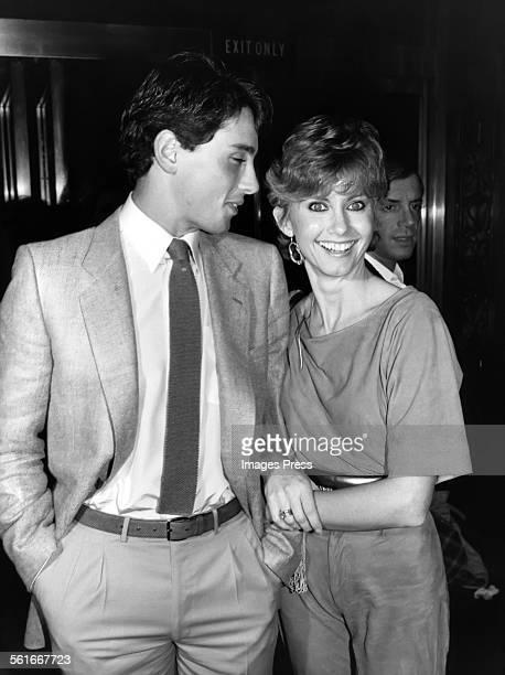 Olivia Newton-John and Matt Lattanzi circa 1981 in New York City.