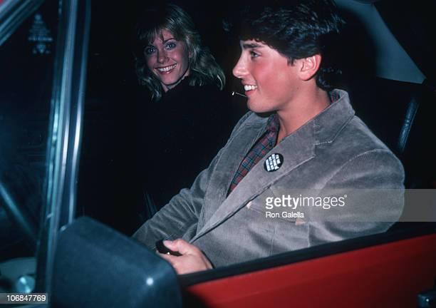 Olivia Newton-John and Matt Lattanzi during Olivia Newton-John and Matt Lattanzi Sighting at Le Dome Restaurant in Hollywood - January 31, 1981 at Le...
