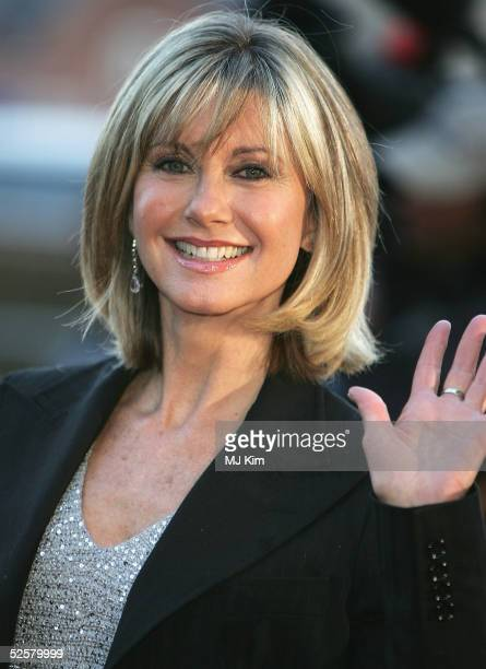 Olivia Newton-John arrives at the Once Upon A Time gala performance, the main event of the Hans Christian Andersen Bicentenary Celebrations, at the...