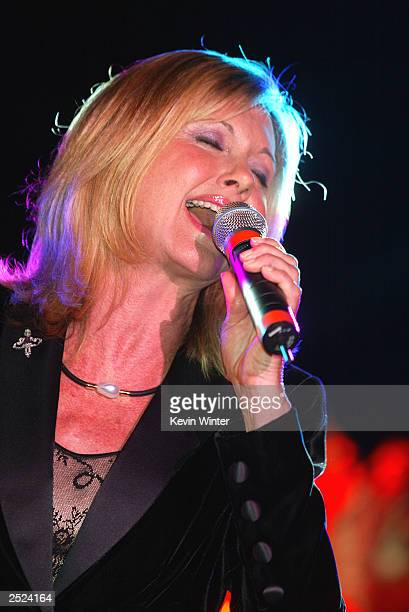 Olivia NewtonJohn at One World One Child Benefit Concert for the Children's Health Environmental Coalition honoring Meryl Streep Nell Newman and Dr...