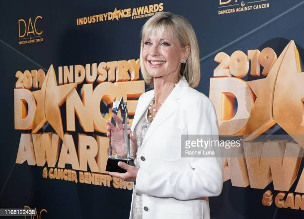Olivia NewtonJohn attends the 2019 Industry Dance Awards at Avalon Hollywood on August 14 2019 in Los Angeles California