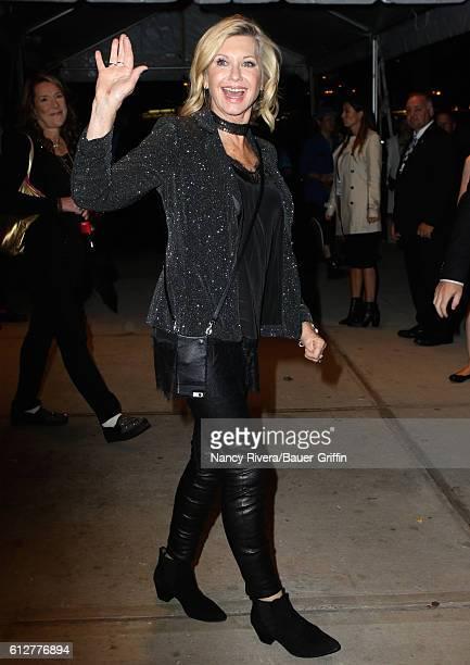 Olivia NewtonJohn is seen on October 04 2016 in New York City