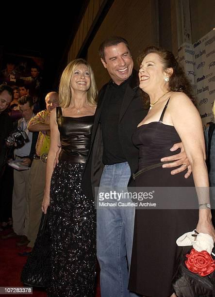 Olivia NewtonJohn John Travolta and Karen Lynn Gorney