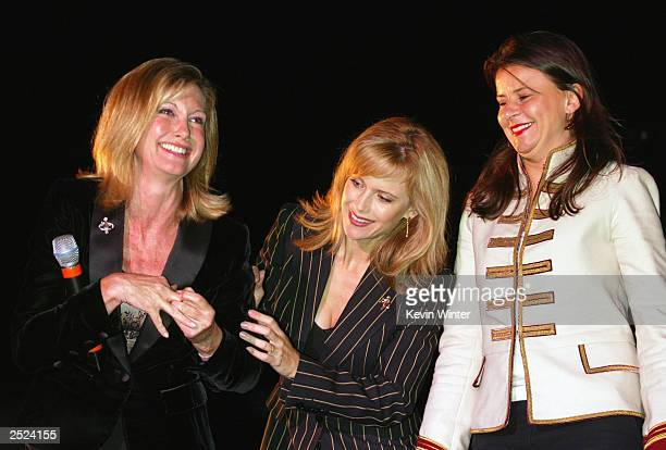 "Olivia Newton-John, Kelly Preston and Tracey Ullman at ""One World, One Child Benefit Concert"" for the Children's Health Environmental Coalition..."