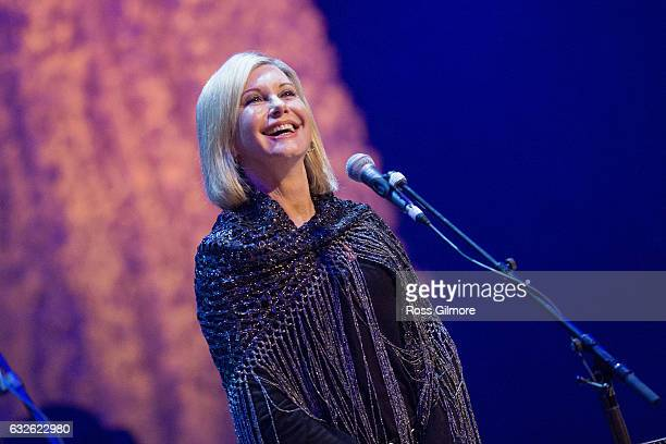 Olivia NewtonJohn Performs at The Glasgow Royal Concert Hall as part of the Celtic Connections Festival on January 24 2017 in Glasgow United Kingdom