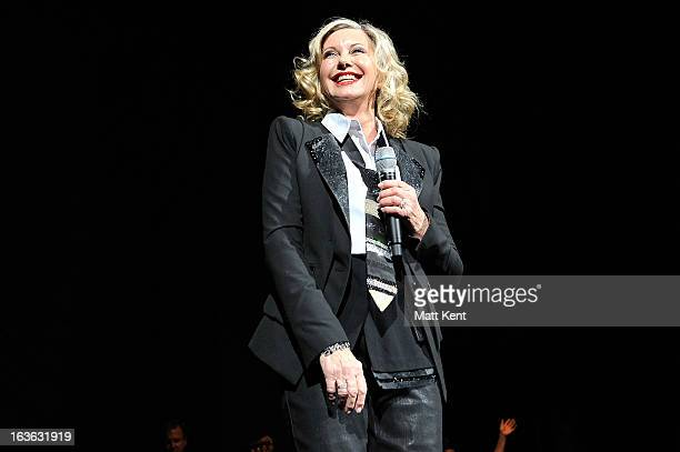 Olivia Newton-John performs at the Royal Albert Hall on March 13, 2013 in London, England.