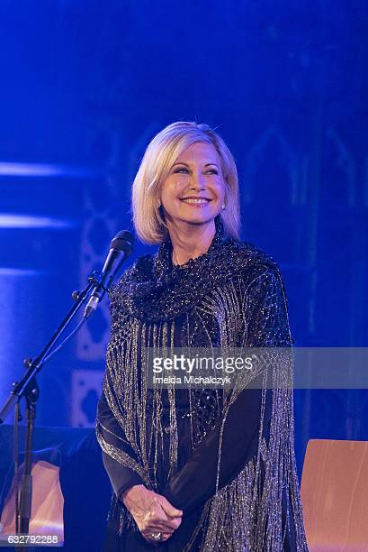 Olivia NewtonJohn performs at the Union Chapel on January 26 2017 in London England