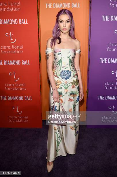 Olivia O'Brien attends Rihanna's 5th Annual Diamond Ball Benefitting The Clara Lionel Foundation at Cipriani Wall Street on September 12 2019 in New...