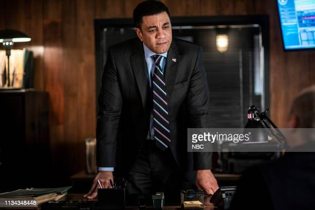 """Olivia Olson """" Episode 615 -- Pictured: Harry Lennix as Harold Cooper --"""