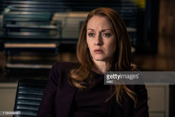 THE BLACKLIST Olivia Olson Episode 615 Pictured Jennifer Ferrin as Anna McMahon