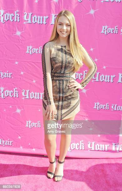 Olivia Ooms attends Rock Your Hair Presents 'Rock Your Summer' Party and Concert on June 3 2017 in Los Angeles California