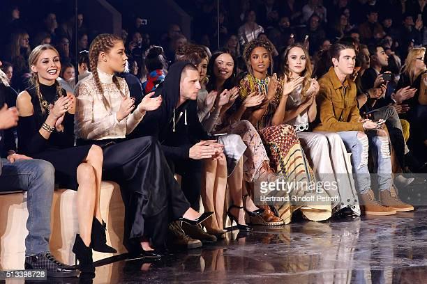 Olivia Palermo Adele Exarchopoulos Jamie Bell Kate Mara Emma Roberts Atlanta de Cadenet Taylor Ciara Suki Waterhouse and GabrielKane DayLewis attend...