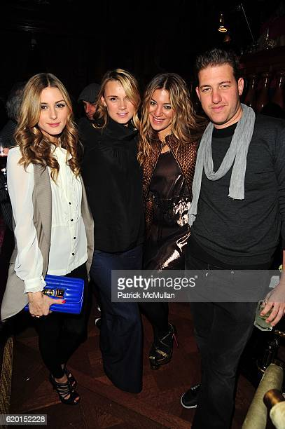 Olivia Palermo Alison Aston Dani Stahl and Jeff Goldstein attend 2020 II LIA SOPHIA at Rose Club at The Plaza NYC on November 17 2008