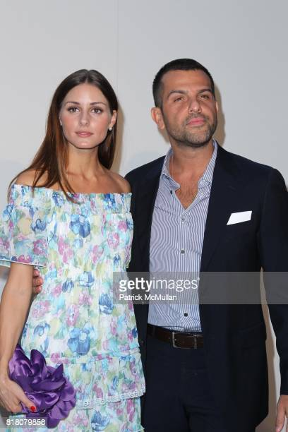 Olivia Palermo and Alexander Berman attend FASHION'S NIGHT OUT THE SHOW at Lincoln Center on September 7th 2010 in New York City