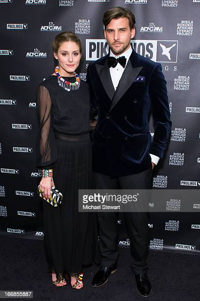 Olivia Palermo and Johannes Huebl attend the 2013 Pikolinos Gala Dinner at the United Nations on April 17 2013 in New York City