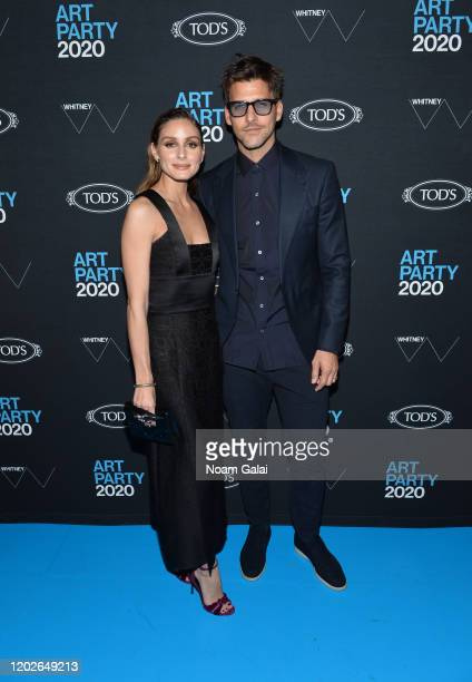 Olivia Palermo and Johannes Huebl attend the 2020 Whitney Art Party at The Whitney Museum of American Art on January 28, 2020 in New York City.