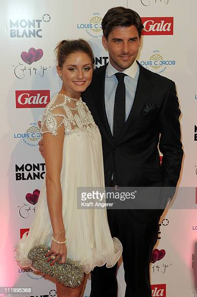 Olivia Palermo and Johannes Huebl attend the Couple Of The Year event on April 11 2011 in Hamburg Germany