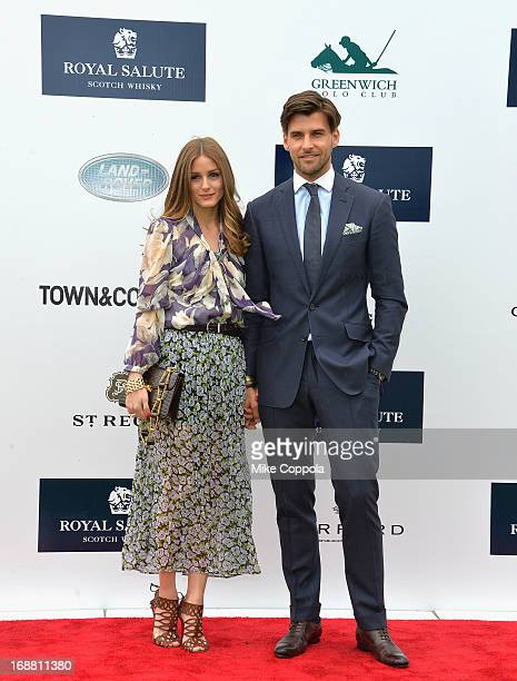 Olivia Palermo and Johannes Huebl attend the The Sentebale Royal Salute Polo Cup at The Greenwich Polo Club on Wednesday 15th May The Sentebale Land...