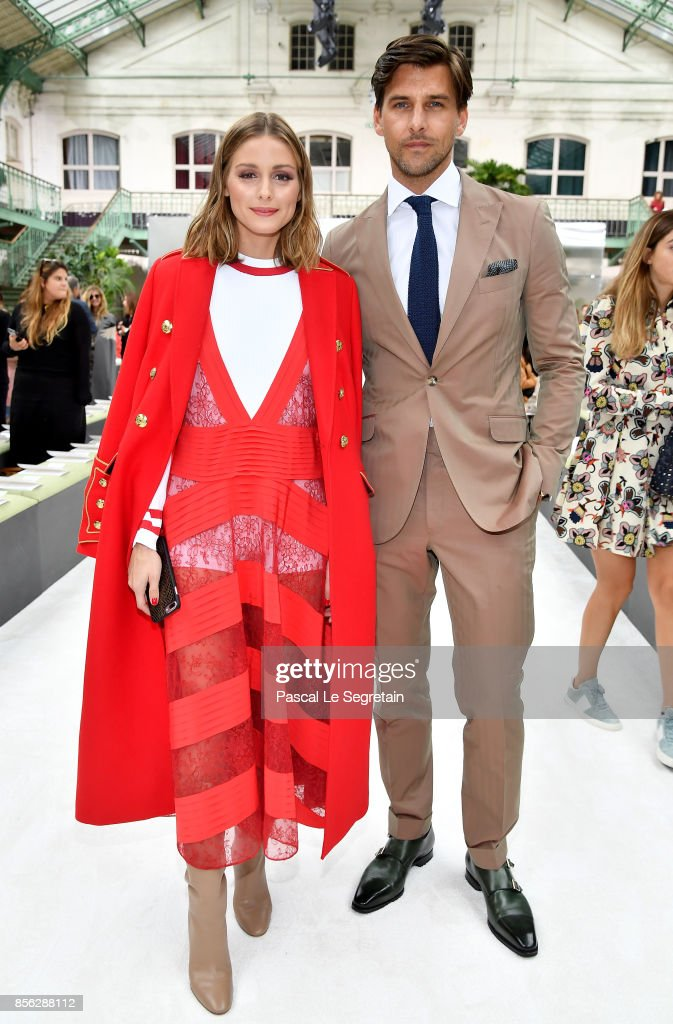 Valentino: Front Row - Paris Fashion Week Womenswear Spring/Summer 2018 : News Photo