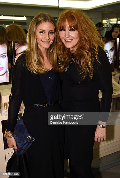 Olivia Palermo and makeup artist Charlotte Tilbury attend Charlotte Tilbury Arrives In America VIP Beauty Launch event presented by Bergdorf Goodman...