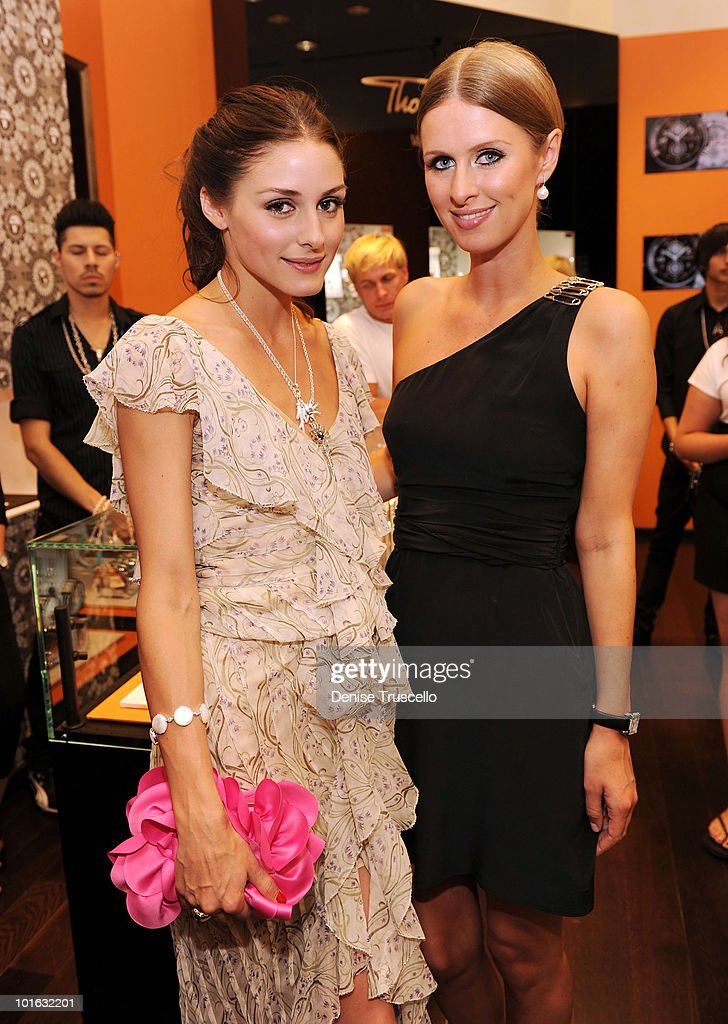 Olivia Palermo and Nicky Hilton attend the opening of the Thomas Sabo store opening at Grand Canal Shoppes Venetian Hotel and Casino Resort on June 4, 2010 in Las Vegas, Nevada.