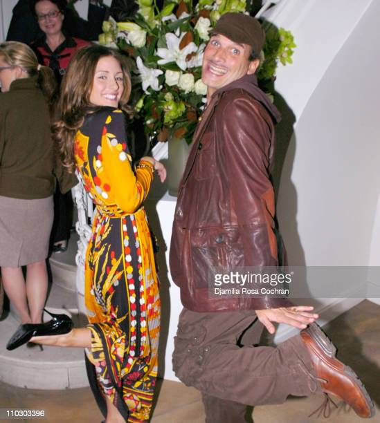 Olivia Palermo and Phillip Bloch during Launch of Design 21 Social Design Network at Fellissimo Townhouse in New York City New York United States