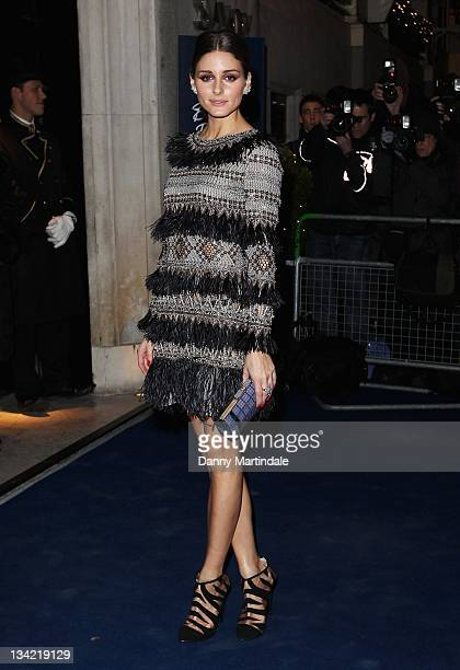 Olivia Palermo arrives at the British Fashion Awards at The Savoy Hotel on November 28 2011 in London England