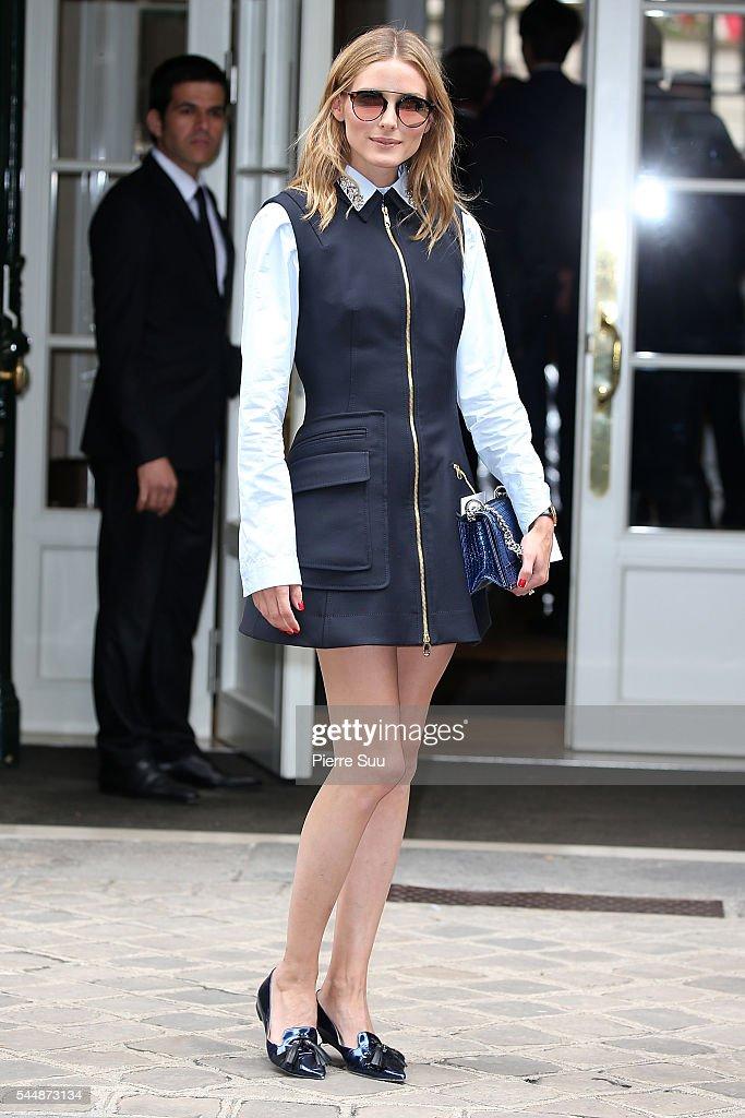 Christian Dior : Outside Arrivals - Paris Fashion Week - Haute Couture Fall/Winter 2016-2017