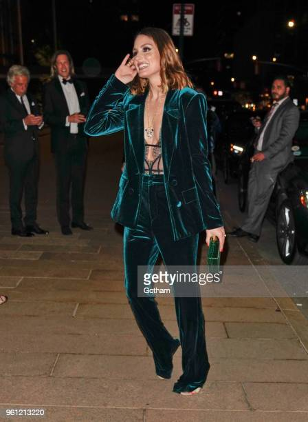 Olivia Palermo at American Ballet Theater on May 21 2018 in New York City