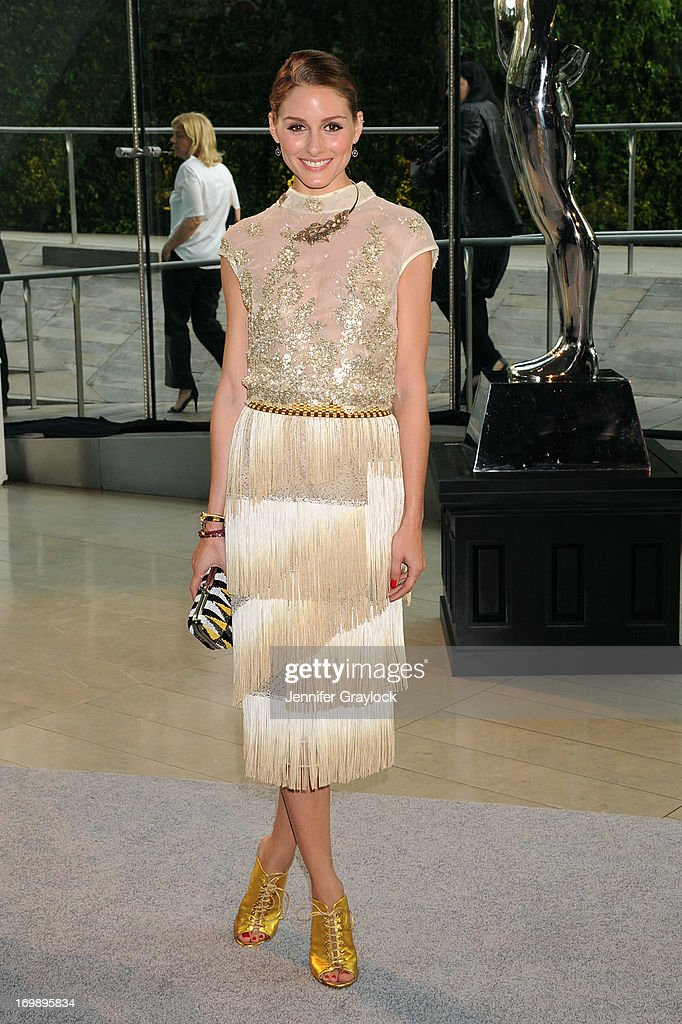 Olivia Palermo attends 2013 CFDA FASHION AWARDS underwritten by Swarovski at Lincoln Center on June 3, 2013 in New York City.
