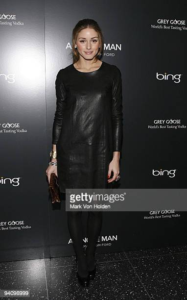"""Olivia Palermo attends a screening of """"A Single Man"""" hosted by the Cinema Society and Tom Ford at The Museum of Modern Art on December 6, 2009 in New..."""