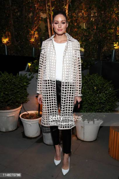 Olivia Palermo attends an event hosted by the British Fashion Council celebrating British Creative Talent at The Times Square EDITION on June 5, 2019...