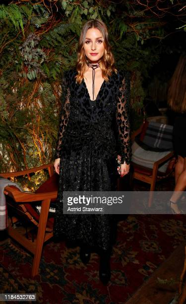 Olivia Palermo attends Caroline Rush Julia Restoin Roitfeld and Bloomingdales Celebrate David Koma's 10th Anniversary at The Peninsula Hotel on...