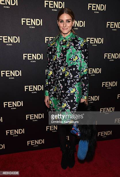 Olivia Palermo attends FENDI celebrates the opening of the New York flagship store on February 13 2015 in New York City