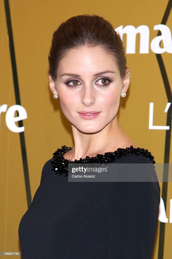 Olivia Palermo attends Marie Claire Prix de la Moda Awards 2012 at the French Embassy on November 22, 2012 in Madrid, Spain.