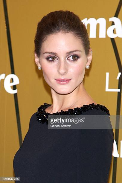 Olivia Palermo attends Marie Claire Prix de la Moda Awards 2012 at the French Embassy on November 22 2012 in Madrid Spain
