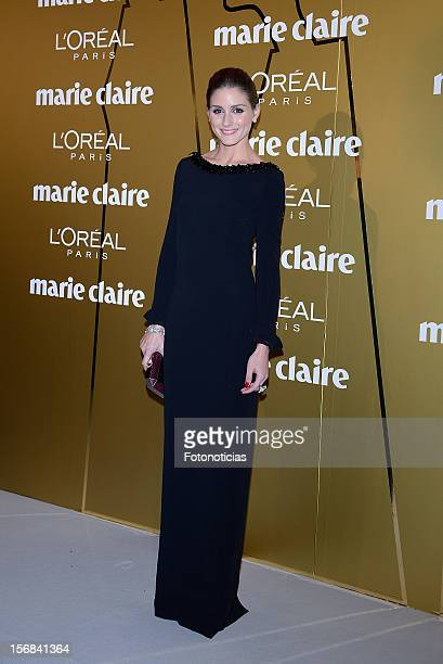 Olivia Palermo attends 'Marie Claire Prix de la Mode 2012' ceremony at the French Ambassadors Residence on November 22 2012 in Madrid Spain