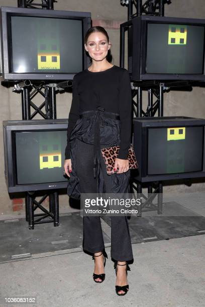 Olivia Palermo attends Moncler Genius The Next Chapter Presentation during Milan Fashion Week Spring/Summer 2019 on September 19 2018 in Milan Italy