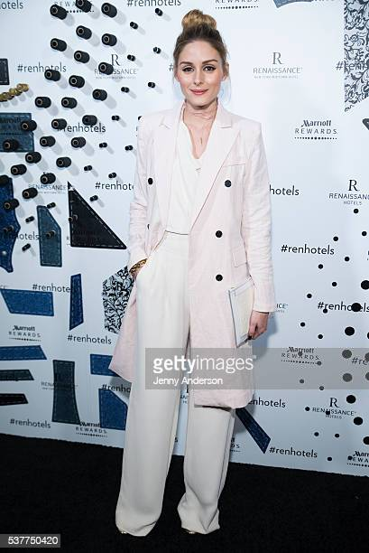 Olivia Palermo attends Renaissance New York Midtown Hotel Launch Party on June 2 2016 in New York City
