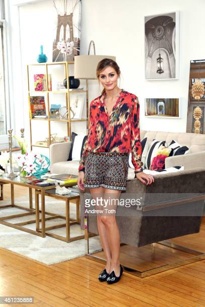 Olivia Palermo attends Shutterfly By Design hosted by Olivia Palermo Brit Morin and Michelle Workman on June 25 2014 in New York City