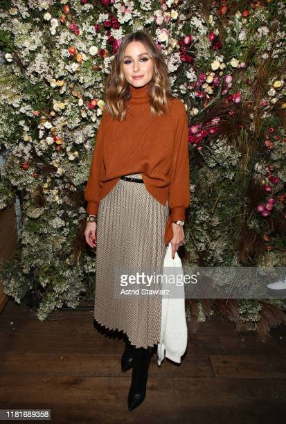 Olivia Palermo attends Talita von Furstenberg Celebrates Her Second Collection on October 17, 2019 at La Mercerie in New York City.