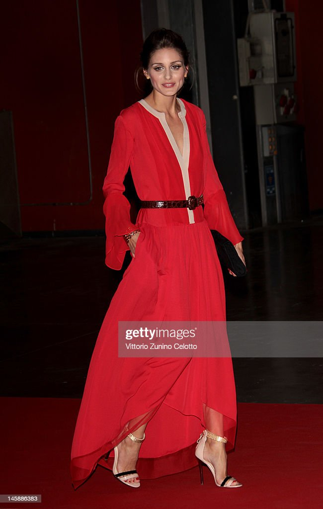 Olivia Palermo attends the 2012 Convivio charity gala event on June 7, 2012 in Milan, Italy.