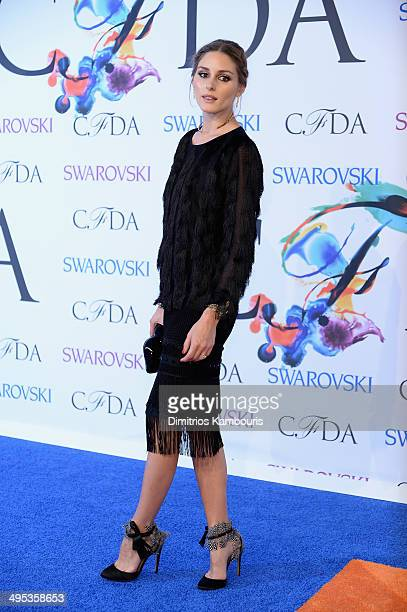 Olivia Palermo attends the 2014 CFDA fashion awards at Alice Tully Hall Lincoln Center on June 2 2014 in New York City