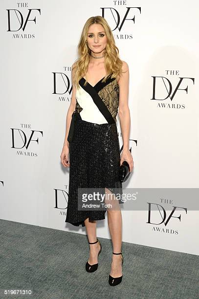 Olivia Palermo attends the 2016 DVF Awards at United Nations on April 7, 2016 in New York City.