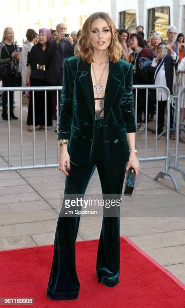Olivia Palermo attends the 2018 American Ballet Theatre Spring Gala at The Metropolitan Opera House on May 21 2018 in New York City