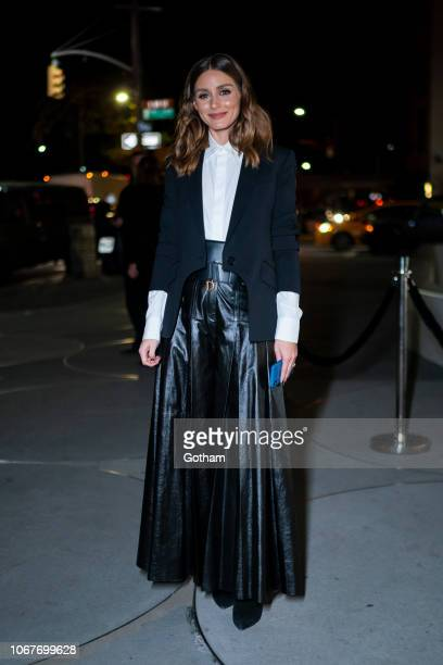 Olivia Palermo attends the 2018 Guggenheim International Gala preparty in the Upper East Side on November 14 2018 in New York City