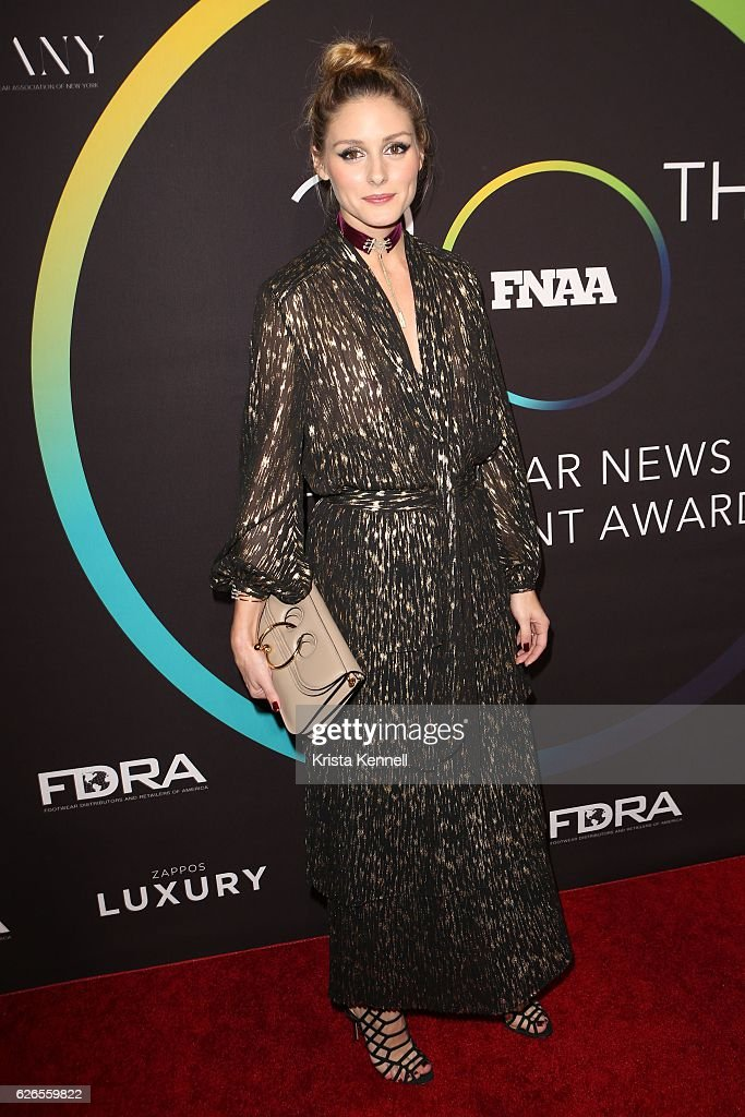 Olivia Palermo attends the 30th FN Achievement Awards at IAC Headquarters on November 29, 2016 in New York City.