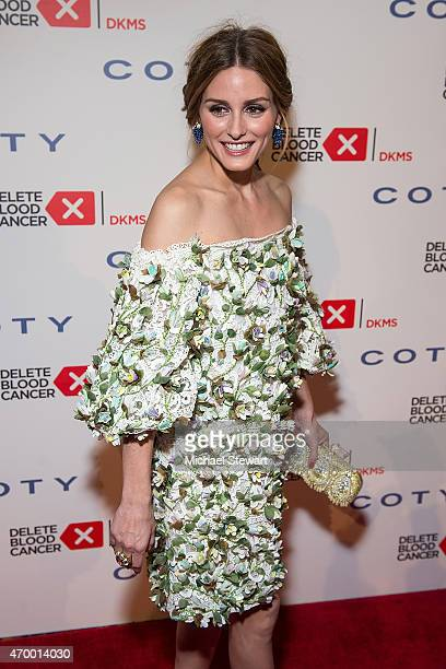 Olivia Palermo attends the 9th Annual Delete Blood Cancer Gala at Cipriani Wall Street on April 16 2015 in New York City