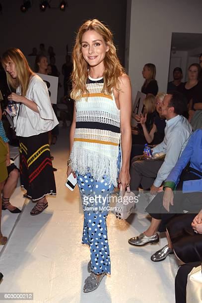 Olivia Palermo attends the Altuzarra fashion show during New York Fashion Week September 2016 at Spring Studios on September 11 2016 in New York City