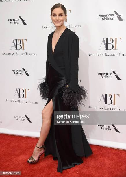 Olivia Palermo attends The American Ballet Theatre 2018 Fall Gala at David H Koch Theater Lincoln Center on October 17 2018 in New York City